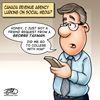 Today's cartoon: Social media and the taxman